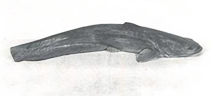 高村光太郎が虚籟に与えた木彫の「鯰」